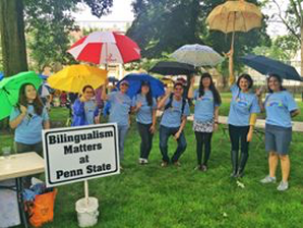 Bilingualism Matters at Penn State at Arts Fest